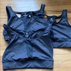 4 small Old Navy sports bras